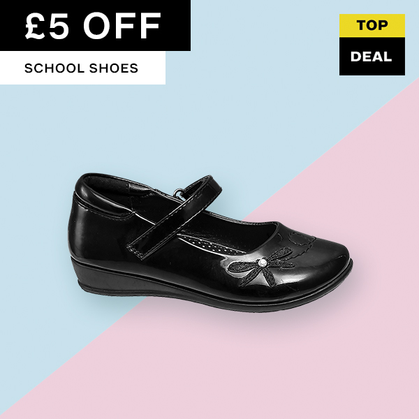 £5 Off School Shoes